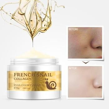 Snail Face Cream Hyaluronic Acid Moisturizing Anti Wrinkle Anti Aging Collagen Repairing Day Cream Skin Care цена 2017