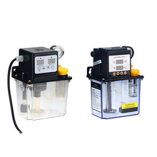 1PC 220V 1L 2L 2 Liters Lubricant Pump Automatic Lubricating Oil Pump CNC Electromagnetic Lubrication Pump Lubricator