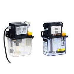 Bomba de lubricante automática, 1 unidad, 220V, 1L, 2 L, 2 litros, bomba de lubricante CNC, bomba de lubricación electromagnética