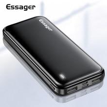 Chargeur de batterie externe de charge portatif de batterie d'essager 10000 mAh Powerbank 10000 mAh pour l'iphone Xiaomi mi