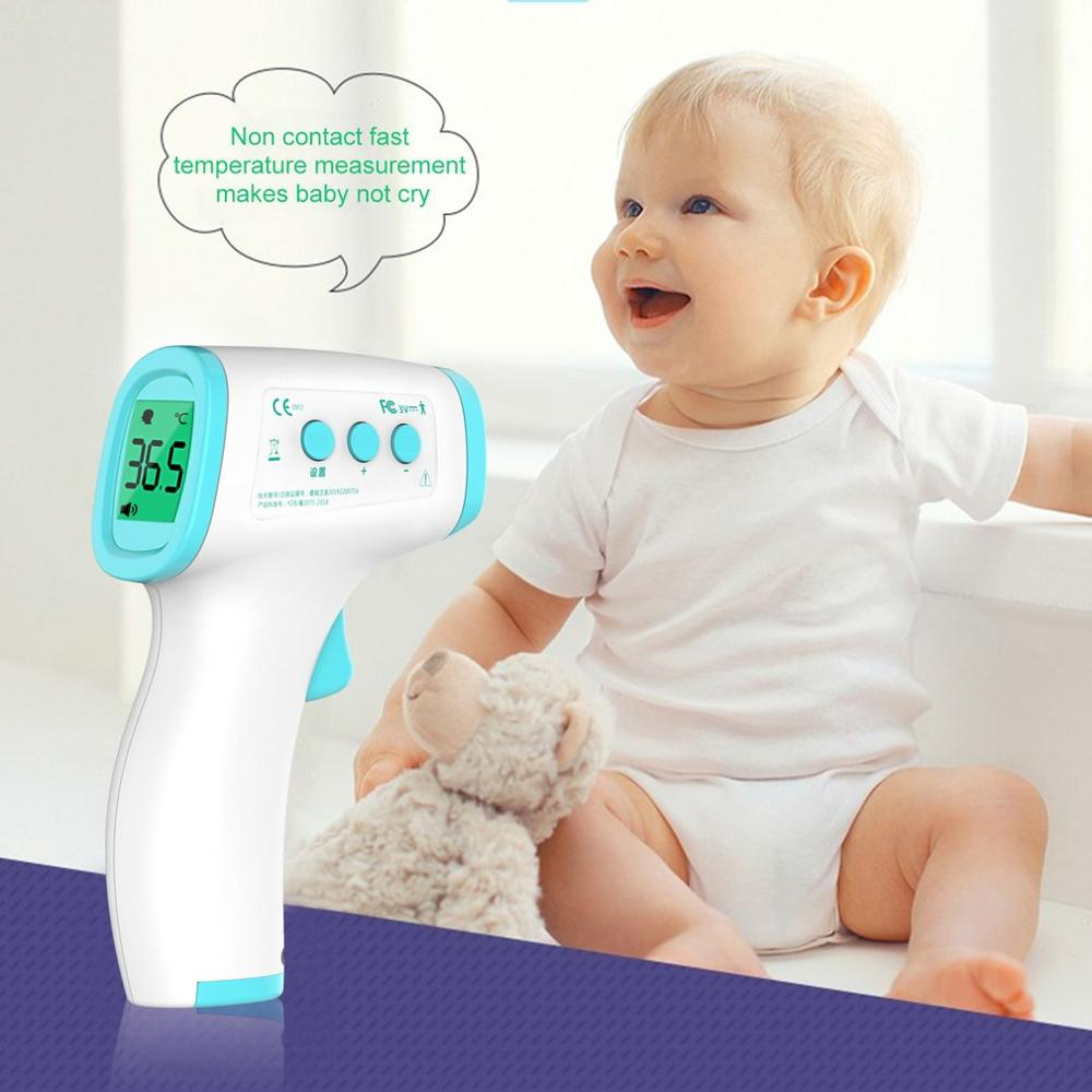 Non-Contact Infrared Human Thermometer Home Hand-Held Digital Thermometer Temperature Measurement Meter Dropshipping