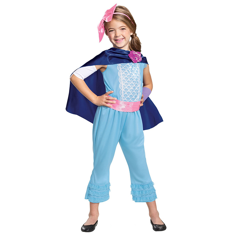 Toy Story Girls Bo Peep Classic Halloween Cosplay Costume
