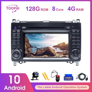 TOOPAI Android 10 Für Mercedes Benz Vito B200 Volkswagen Crafter Sprinter Auto Multimedia-Player GPS Navigation Auto Radio Stereo image