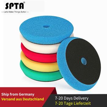 SPTA 4 #8222 (100mm) 6 #8221 (150mm) 7 #8222 (180mm) Car Spong talerze polerskie i stożki polerskie do DA RO GA 3 #8221 (80mm) 5 #8222 (125mm) 6 #8221 (150mm) do polerowania samochodu tanie i dobre opinie 6 (150mm) 6 (150mm) x 30mm Waxing Polishing Sealing Glaze Polishing Pads and Buffing For Car Wax And Polishing Germany Sponge Foam