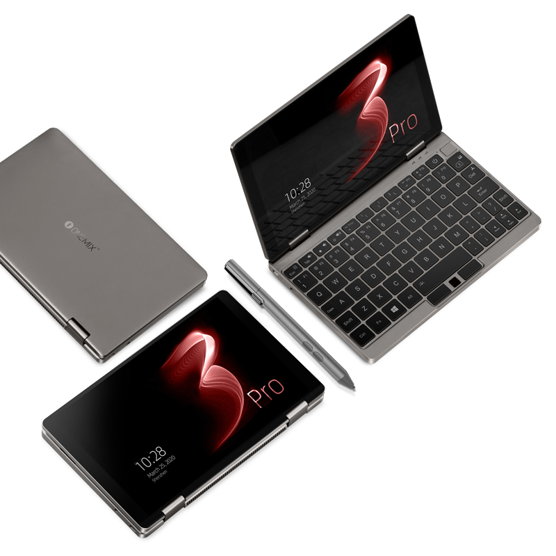 "8.4"" IPS 16G 512G One Mix3 Pro Platinum Edition Yoga Pocket Laptop Intel Core i7-10510Y Quad-Core Dual Band WIFI Mini Laptop 6"