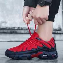 Новая мода 2020, кроссовки на воздушной подушке, кроссовки для мужчин, удобная спортивная мужская обувь, мужские кроссовки размера плюс 47