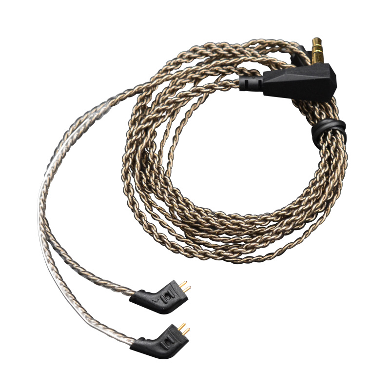 Новейший оригинальный обновленный кабель KZ с посеребренным покрытием, кабель OFC 0,75 мм для наушники KZ ZST/ZS5/ZS3/ED12/ZS6/ZS4/ZSA/ED16/AS10/BA10/ZSR