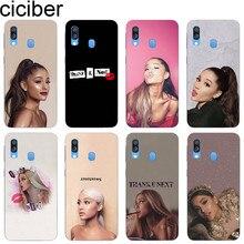 Ciciber Cover for Samsung Galaxy A50 A70 A40 A30 A20 A60 A10 A20e A80 Phone Cases Soft Silicone TPU Coque Fundas Ariana Grande