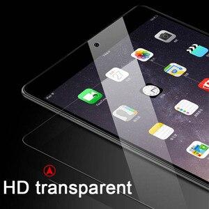 9H de cristal templado de cine Protector de pantalla para iPad 10,2 2019 7th 2018, 2017 de 9,7 6th 5th Gen Pro 10,5 11 Mini 5 4 3 2 7,9 tableta amortiguador Tech accesorio beige Rojo Negro compruebe Tartan tableta amortiguador