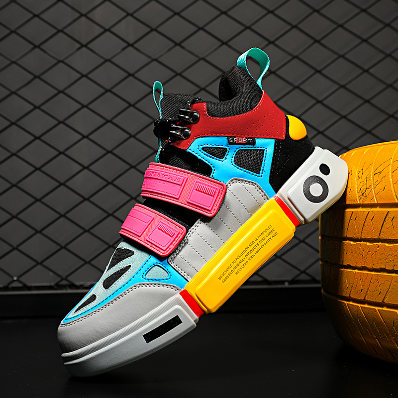 2019 Summer Autumn Women Outdoor Sock Skateboarding Shoes Men Male High Top Walking Boots Boy Training Sports Sneakers