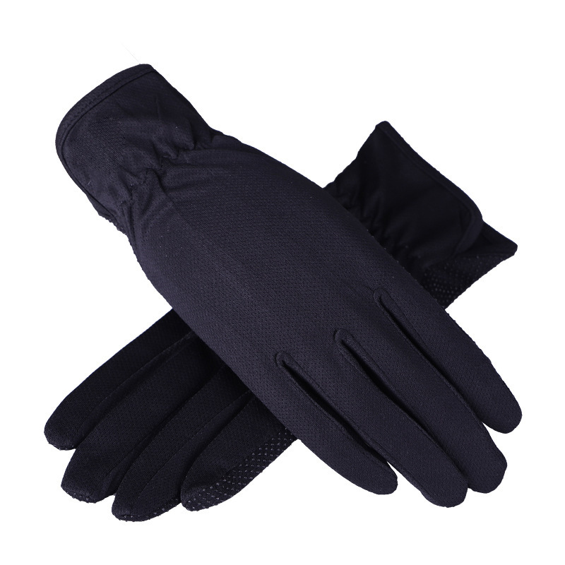 2020 New Fashion Women Summer Driving Gloves Non-slip Block UV Touch Screen Gloves Polyester Glove Women Breathable Guantes