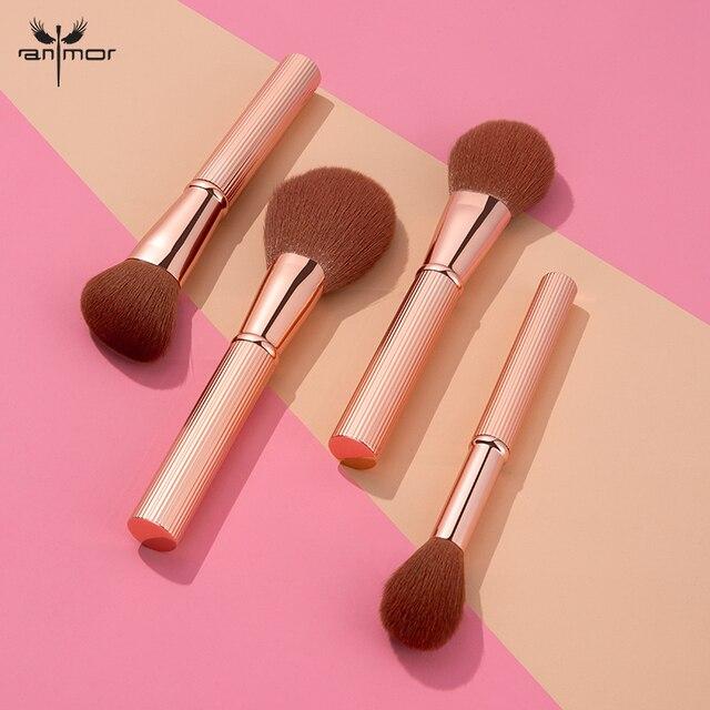 ANMOR 1 Pcs High-end Makeup Brushes Powder Blush Blending Highlighting Contour Make Up Brush Top Quality Pincel Maquiagem