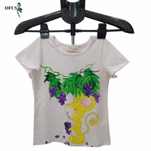 Children T-shirt Kid Girls Cartoon Printed Cotton Short Sleeve Clothes T-shirts Girls Child O-neck Top Tees Summer Teenager Top legible hot sale o neck t shirt men 2020 summer fashion funny printed short sleeve t shirts men loose fit mens top tees shirt
