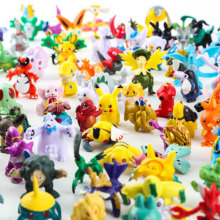 144 POKEMON GO Pokemon Pikachu PVC Pokémon Garage Kits Toy Decoration