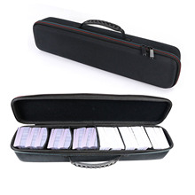 Besegad Travel Portable EVA Shockproof Playing Card Carrying Case Pouch Protective Storage Bag Box for Board Game Trading Cards