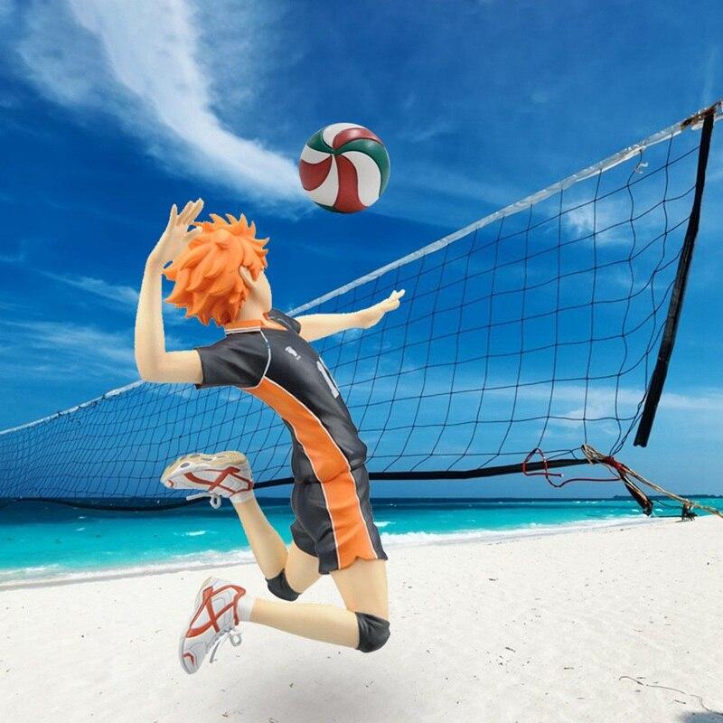 Image 5 - Anime Haikyuu Volleyball Athlete Hinata Syouyou Shoyo PVC Action Figure Collection Model Toys DollAction & Toy Figures   -