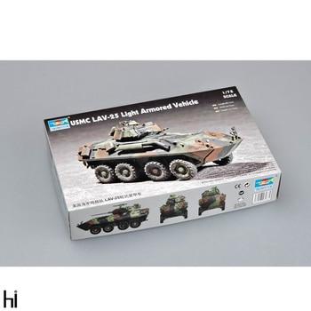 Trumpeter 1/72 07268 USMC LAV-25 Light Armored Vehicle Plastic Assembly Model Building Kit