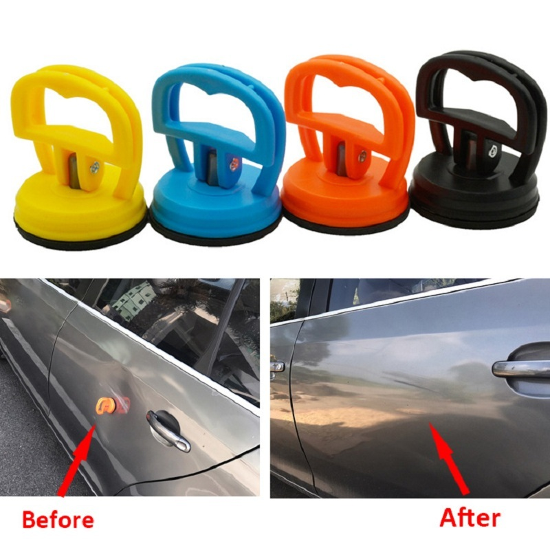 Mini Car Dent Puller Remover Auto Body Dent Puller Bodywork Tools Car Suction Cup Pad Car Repair Glass Metal Lifter Locking