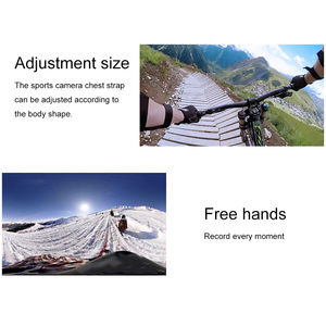 Image 5 - Ruigpro Adjustable Harness Chest Strap Mount For DJI osmo action camera Gopro Hero 9 8 7 6 5 4 Xiaomi Yi 4K Go Pro 7 Accessory