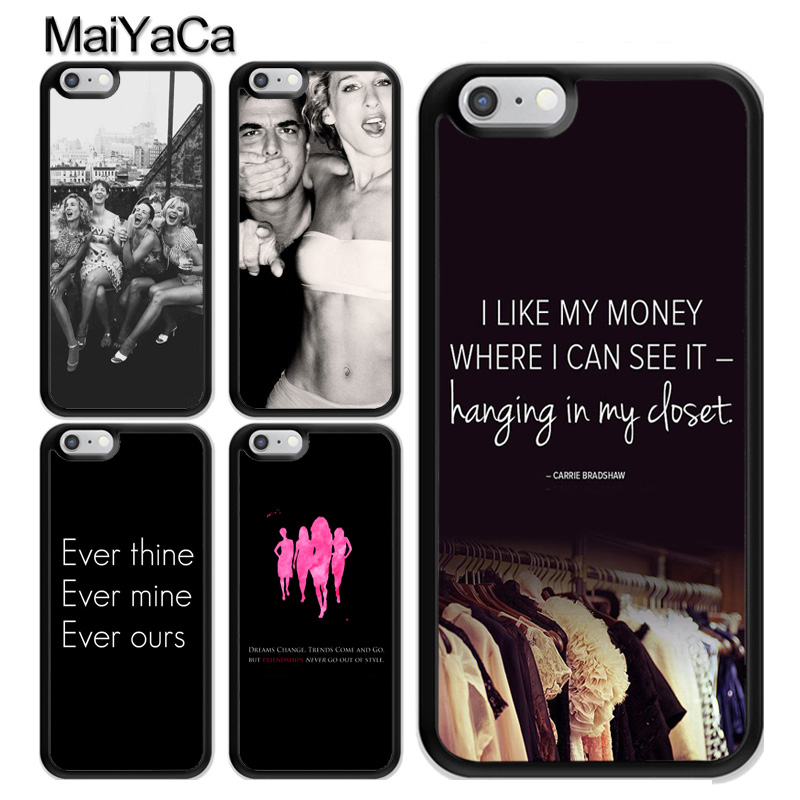 <font><b>Sex</b></font> and the City Quotes <font><b>Case</b></font> For <font><b>iPhone</b></font> 11 Pro MAX X XR XS MAX SE 2020 6S <font><b>7</b></font> 8 <font><b>Plus</b></font> 5s Cover Coque image