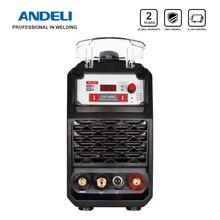 ANDELI coupeur Plasma Intelligent Portable, Machine de découpe monophasée, avec découpe/MMA 2 en 1, CUT 45DL