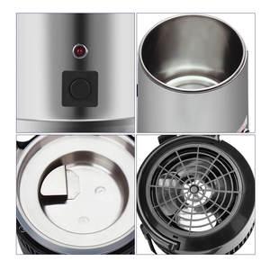Image 5 - 4L ホーム純水蒸留器機械蒸留水蒸留浄水器フィルターステンレス鋼ガラス瓶カーボンフィルター家族