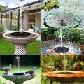 Solar Power Wasser Garten Brunnen Pumpe Panel Fontein Vogel Hause Schwimm Teich Energie Terrasse Decor Rasen Indoor Dekoration Quelle