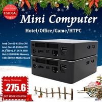 EGLOBAL V200 Desktop Fan HOT Sale Computer Core i5 I7 8250u 8550U mini pc all in one pc for HTPC school low consumption