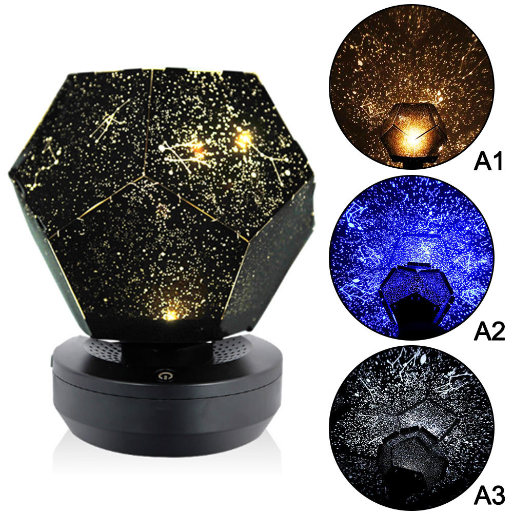 DIY Star Master Projection LED Night Light Sky Projector Lamp Astro Cosmos Led Night Light Lamp For DIY Science Children Toys