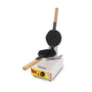 Image 1 - Nowy Model o strukturze plastra miodu maszyna do gofrów komercyjne non stick ekspres mini plaster miodu gofrownica w kształcie żeliwna patelnia maszyna do