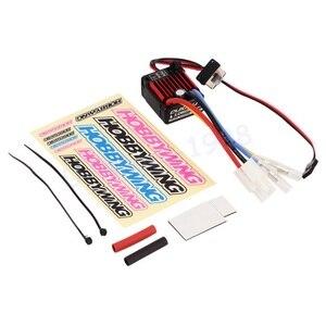 Image 2 - 1 шт. оригинальный щеточный электронный контроллер скорости HobbyWing quirun 1060 60A ESC для 1:10 радиоуправляемого автомобиля водонепроницаемый для радиоуправляемого автомобиля