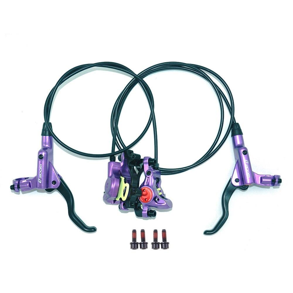 ZOOM HB-875 Bicycle Brake mtb Brake Hydraulic Disc Brake 800/1400/1450/1550mm MT200 Mountain Bicycle Brake Upgrade MT315 MT615