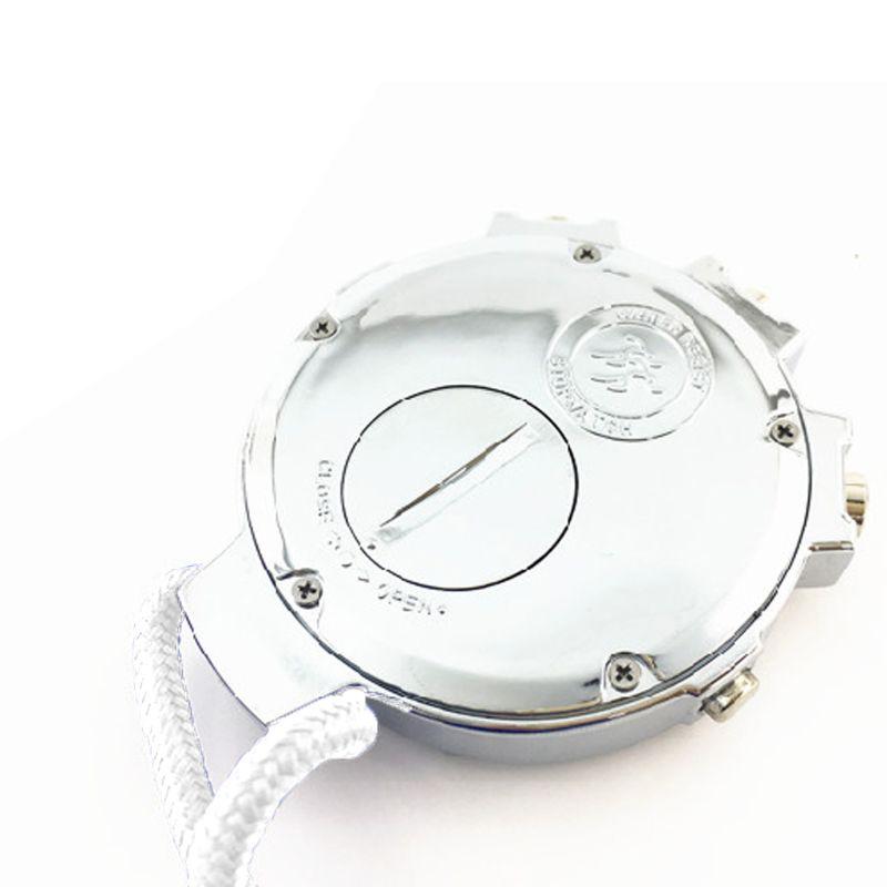 Cronômetro silencioso com luz 0.01s alta precisão