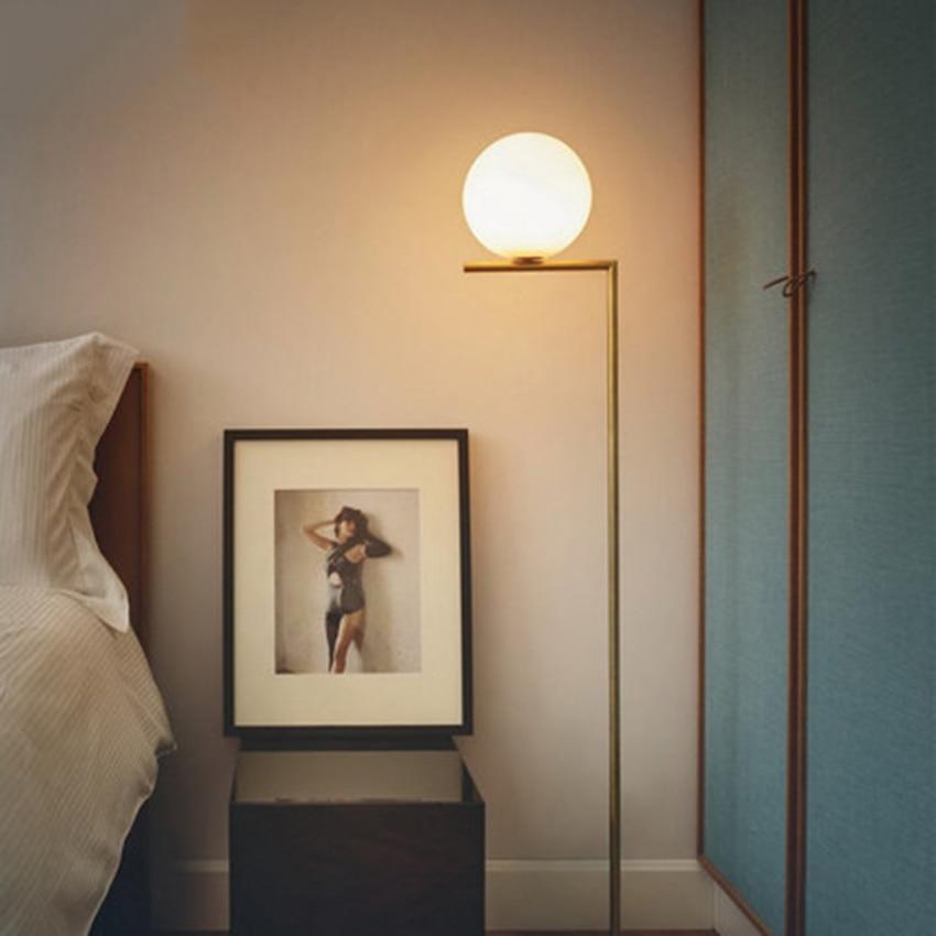 Modern Pendant Lights LED Glass Loft Decor Fixtures Dining Bedroom Room Frosted Pendant Lamp Decor Socket Hanging Lamp Luminaire in Pendant Lights from Lights Lighting