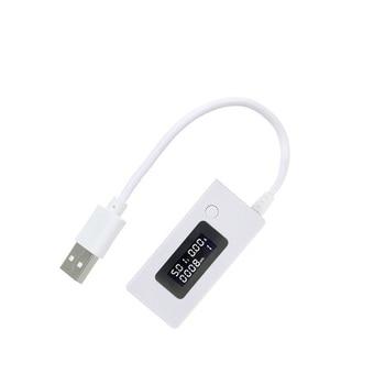 USB Tester Mini LCD Digital Voltage Current Detector Voltmeter Amperimetro Voltage Current Volt Meter Power Bank Charger usb charger doctor battery tester power detector voltage current meter measurement instruments bs