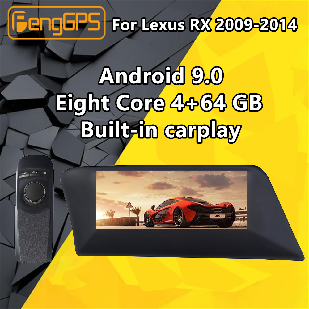 For <font><b>LEXUS</b></font> RX270 RX300 <font><b>RX330</b></font> RX350 RX450h 2009-2014 Car Multimedia Player <font><b>Android</b></font> Audio Radio Stereo Autoradio GPS Head unit BT image