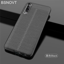 For Samsung Galaxy A50 Case A505F Soft Silicone Anti-knock Bumper Cover BSNOVT