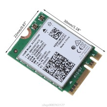 Беспроводной двухдиапазонный Wi-Fi адаптер 2400 Мбит/с для AX200 NGFF M.2 Bluetooth 5,1 карта AX200NGW Адаптер 2,4G/5 ГГц 802.A27 21 Прямая поставка