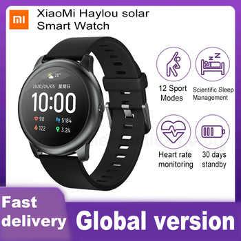 XiaoMi Haylou Solar Smart Uhr IP68 Wasserdichte Sport Fitness Schlaf Herz Rate Monitor Bluetooth LS05 SmartWatch Für iOS Android