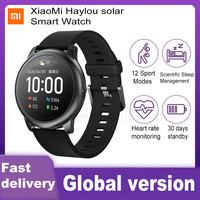 XiaoMi Haylou Solar Smart Watch IP68 Waterproof Sport Fitness Sleep Heart Rate Monitor Bluetooth LS05 SmartWatch For iOS Android