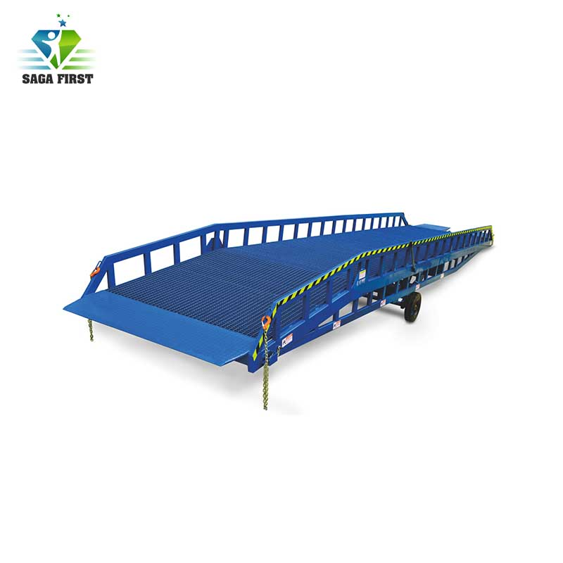 ISO Container Loading Dock Ramp Leveler For Transportation