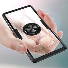Прозрачный чехол с кольцом для телефонов Samsung Galaxy S20 Ultra Note 10 9 S10 S9 Plus S10E Note9 A50 A70 A51 A71 S10Plus S9Plus