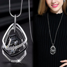 Long Necklaces & Pendants for Women Maxi Collier Femme Geometric Chain Fashion Necklace Statement Colar Accessories Jewelry 2021