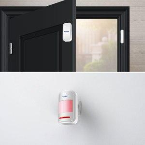 Image 5 - Kerui G18 Apps Steuer Home Security Alarm System 433MHz GSM Einbrecher Alarme Anzug Motion Detektor Alarmas De Seguridad Para casa