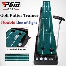 Ensemble d'entraînement de Golf vert Portable de 3M, pour l'intérieur, Putter, Fairway, velours, aide à l'entraînement, pour la maison et le bureau
