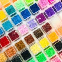 DOLLRYGA juguetes 1200pcs/box perler Beads 2.6mm Hama for Children Educational jigsaw puzzle DIY Toys Fuse Pegboard