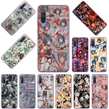Genshin Impact Silicone Phone Case for Xiaomi Mi CC9 11i 10i 9 8 A3 A2 6X F1 Mix2 Max2 Black Shark 3 A1 5X Clear Soft Back Cover