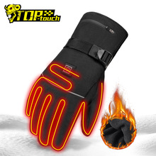 Hand-Warmer Gloves Moto Heated Waterproof USB Guantes Battery-Powered Electric