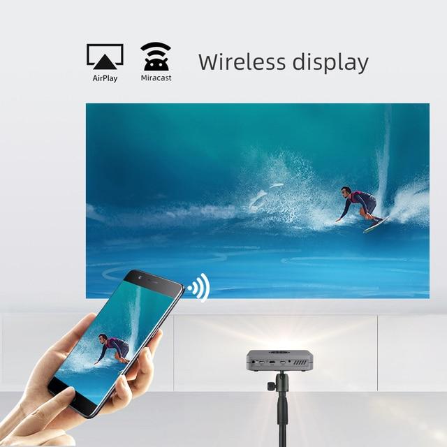 BYINTEK Mini Projector U20 Pro, Android Smart Wifi Beamer, Portable LED DLP Proyector 5