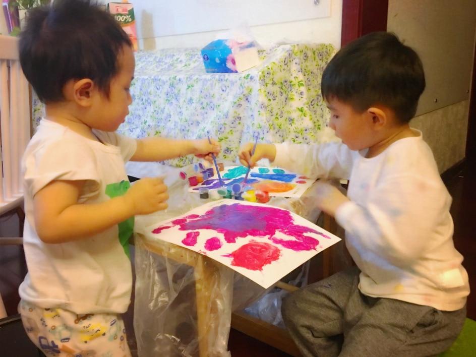 Conte de fées maître bébé Graffiti peinture à colorier bricolage aquarelle Pigment jeune enfants Gouache ensemble fait à la main